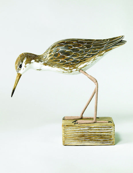 HAND CARVED | RUFF BIRD