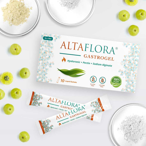 Altaflora Gastrogel liquid sachets is the natural and safe first-line treatment for gastrointestinal indigestion
