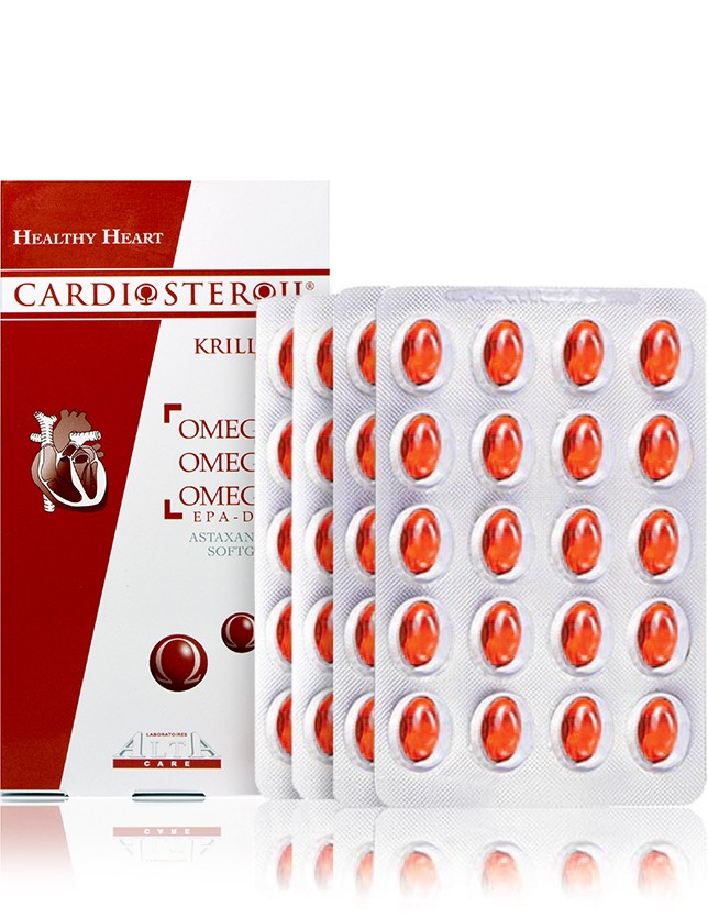 Cardiosteroil Krill Softgel Capsules