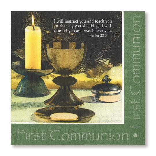 Divinity Boutique Napkin: First Communion