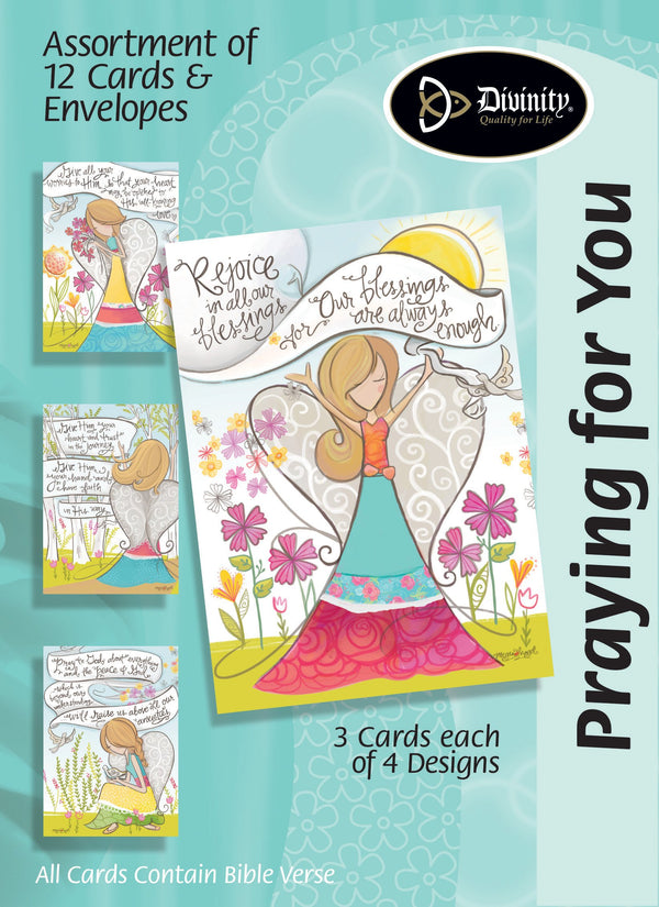 Divinity Boutique Boxed Cards: Praying For You, Angels