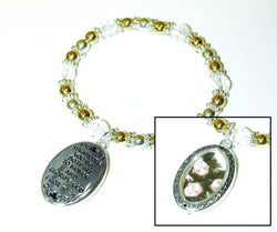 Divinity Boutique Oval Picture Frame Bracelet
