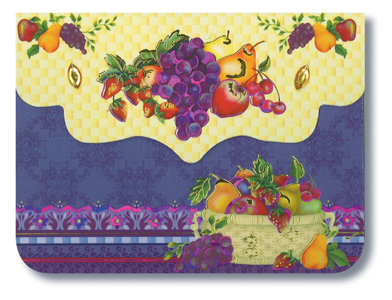 Divinity Boutique Purse Pad : Fruit Basket, Scripture