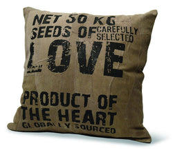 Divinity Boutique Recycled Leather Pillow