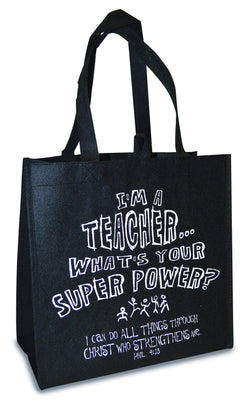 Divinity Boutique Eco Tote: I'm A Teacher
