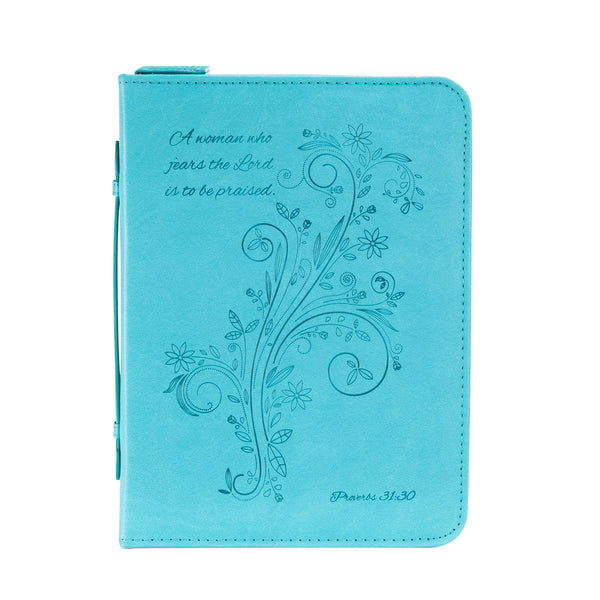 Bible Cover - A Woman Who Fears, Proverbs 31:30