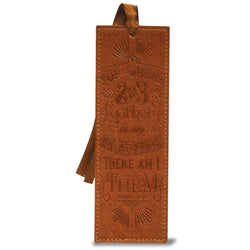 "Our Divine Details collection feature deluxe bible covers with matching journals & bookmarks. Intricate details, fancy embellishments & fine hot stamp design puts this collection in a category all its own. Bookmarks measure 2.25"" x 6.5"" & feature scripture. Material: Leather."