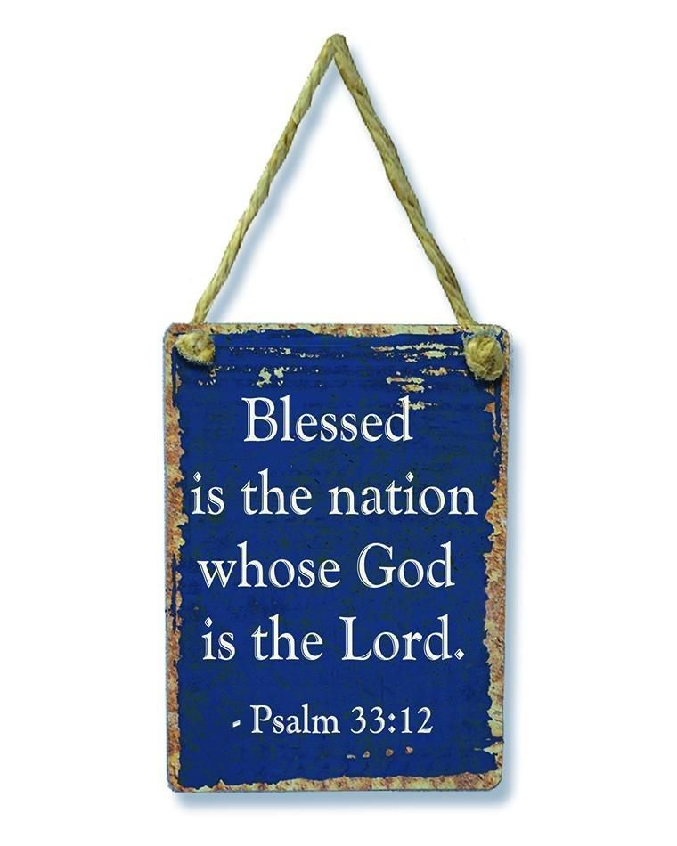 Divinity Boutique God Bless America: Hanging Sign