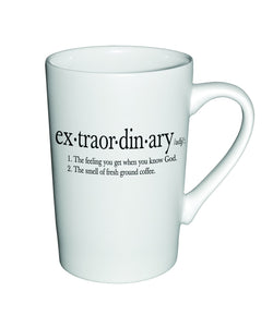 Divinity Boutique Matte Definition Mug : Extraordinary