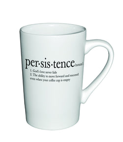 Divinity Boutique Matte Definition Mug : Persistence