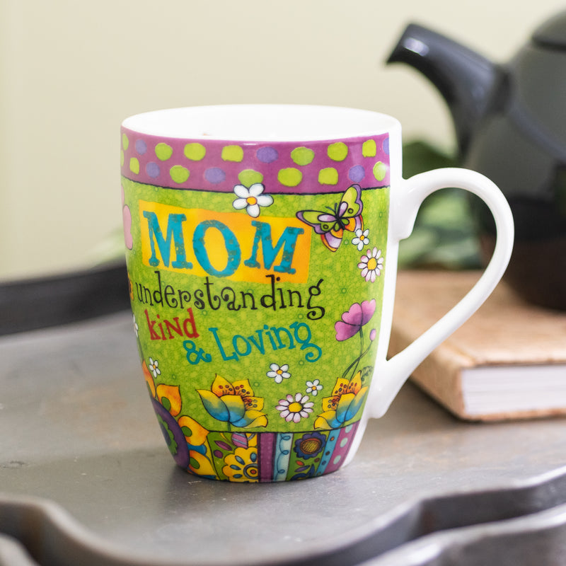 """Mom"" Mug Boxed Gift Set - Philippians 1:7 - 12 oz"