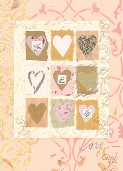 Divinity Boutique Single Cards: Heart Grid (6 Pack)