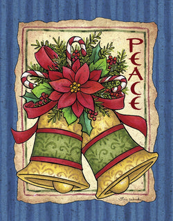 Divinity Boutique Boxed Christmas Cards: Peace Bells