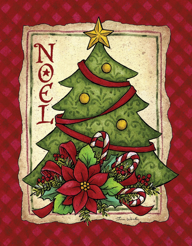 Divinity Boutique Boxed Christmas Cards: Noel Tree