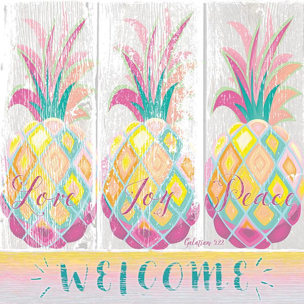 Divinity Boutique Napkin: Welcome Pineapples