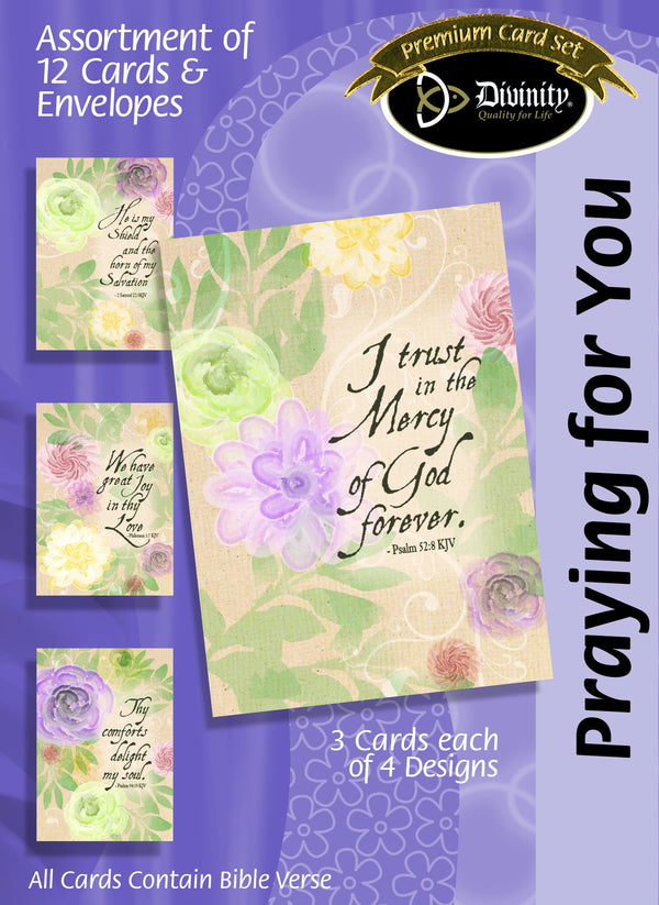 Divinity Boutique Boxed Cards: Praying For You