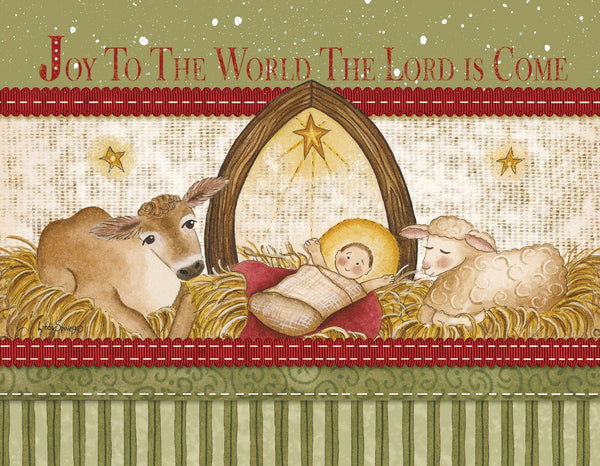 Divinity Boutique Boxed Christmas Cards: Joy To The World Baby Jesus
