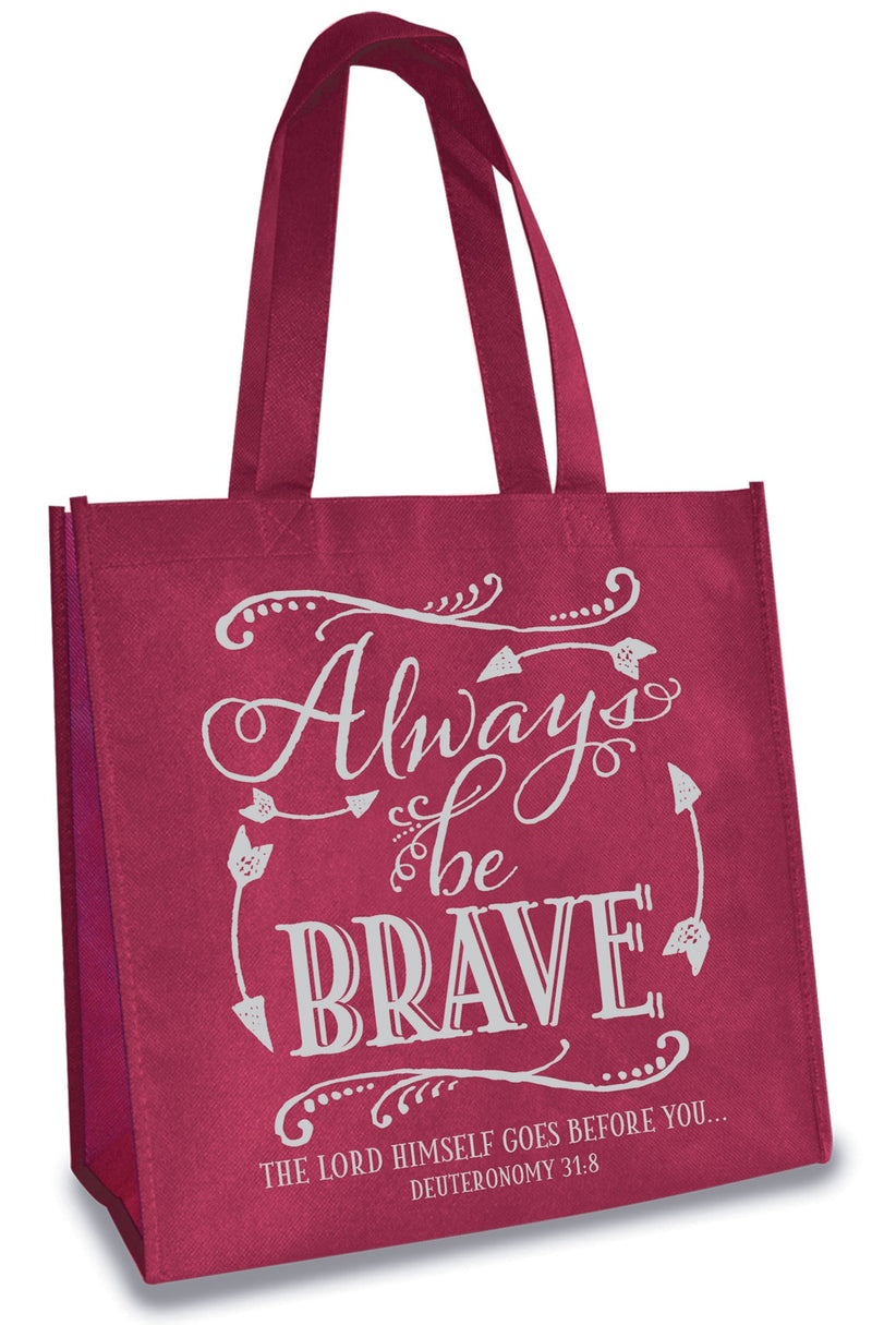 Divinity Boutique Eco Tote: Always Be Brave