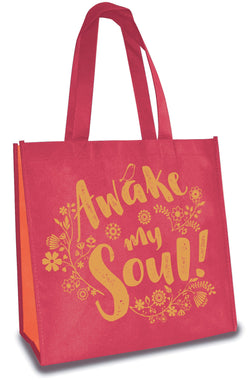 Divinity Boutique Eco Tote: Red: Awake My Soul