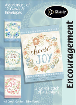 Divinity Boutique Boxed Cards: Inspiration-Flower Wreaths