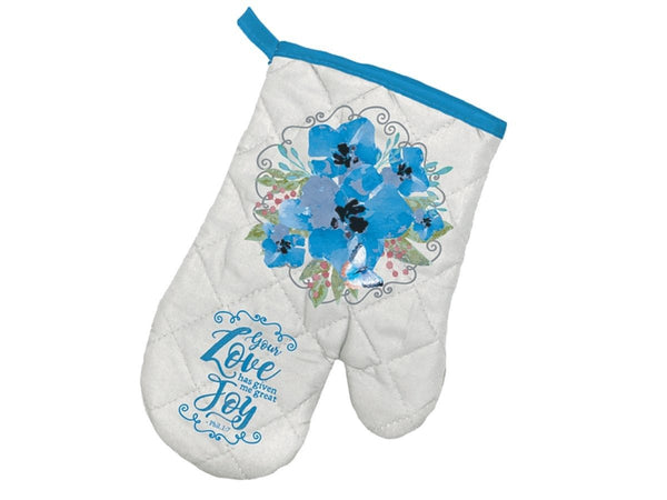 Divinity Boutique Blessed Beyond: Oven Mitt & Potholder