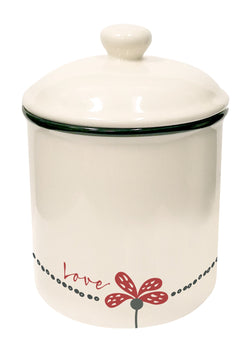 Divinity Boutique Scribbles Kitchen: Canister - Love