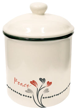 Divinity Boutique Scribbles Kitchen: Canister - Peace