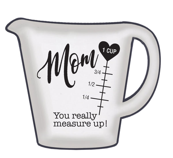 Oak Patch Gifts Cherished Women: Mom Measuring Cup Spoon Rest