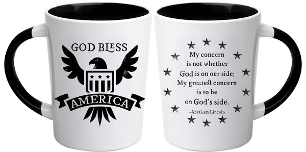 Divinity Boutique God Bless Latte Mug