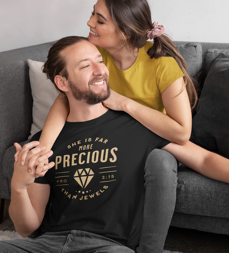 More Precious than Jewels Unisex T-shirt by Divinity Boutique