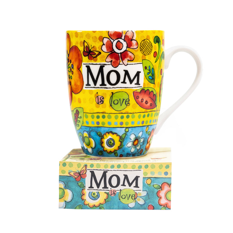 """Mom"" Mug with Notepad Gift Set"