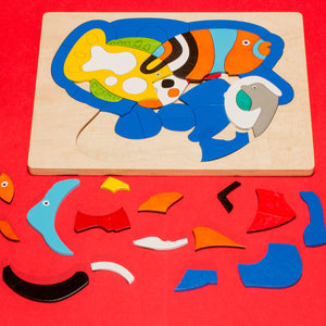 Reef Fish Wooden Jigsaw Puzzle