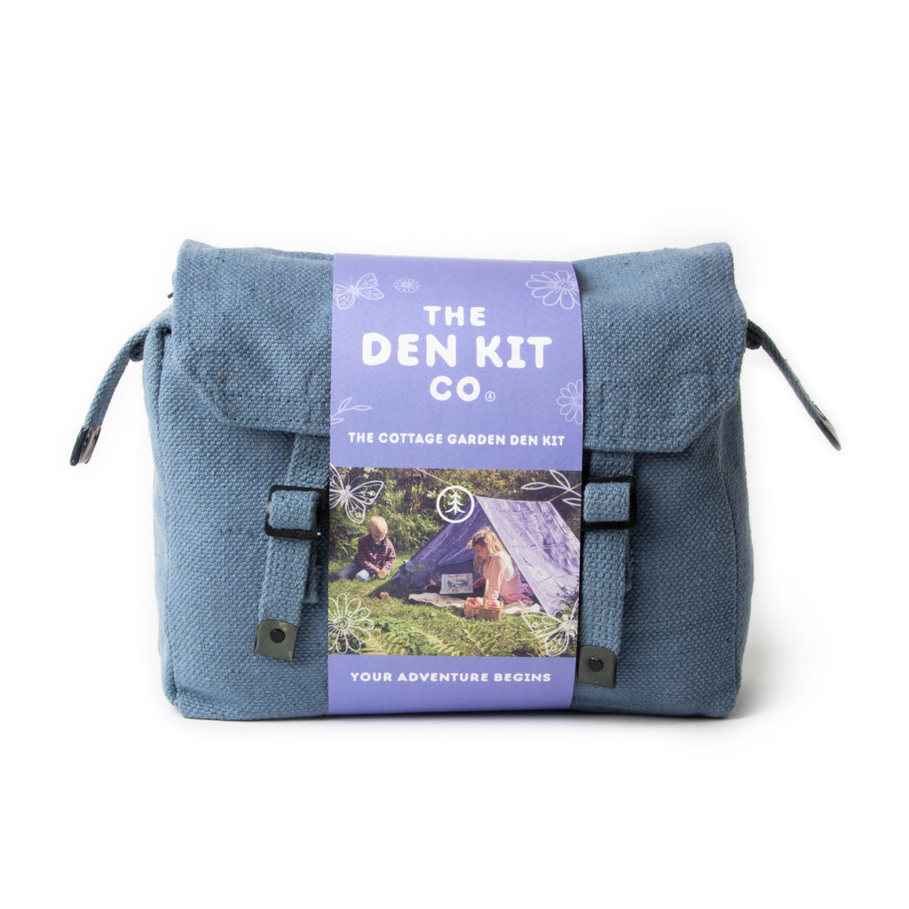 Cottage Garden Den Kit - den building at it's best. A satchel packed with everything you need.