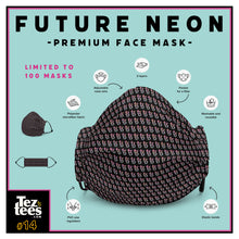 Load image into Gallery viewer, Future Neon - Premium Face Mask - #14