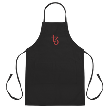 Load image into Gallery viewer, Red Letter Tezos - Premium Baker's Apron - #22
