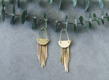 Load image into Gallery viewer, CALLIOPE FRINGE EARRINGS