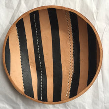Load image into Gallery viewer, HAND FORMED LEATHER BOWL
