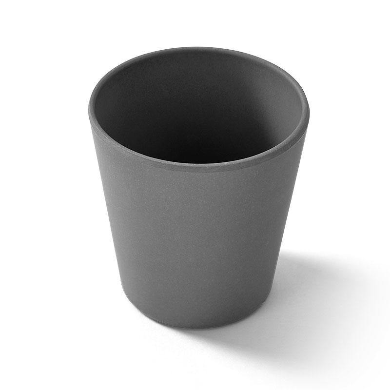 EcoSouLife 10oz Biodegradable Cup All Natural Material Charcoal