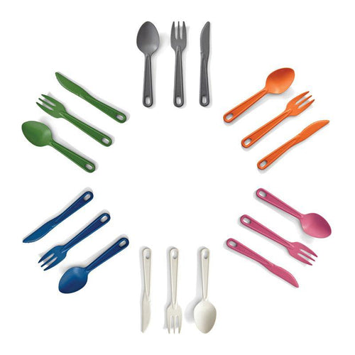 EcoSouLife All Natural Cutlery Set Group