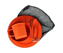 Load image into Gallery viewer, EcoSouLife Orange Biodegradable Camper Set All Natural Material