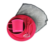 Load image into Gallery viewer, EcoSouLife Pink Biodegradable Camper Set All Natural Material