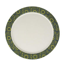 Load image into Gallery viewer, Bamboo Dinner Plate Printed Paisley - EcoSouLife