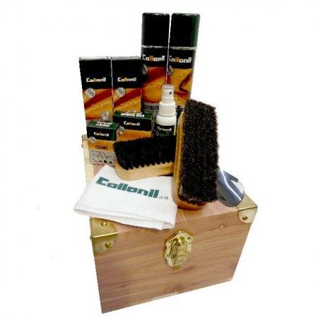 Collonil Cedar Box Shoe Care Kit
