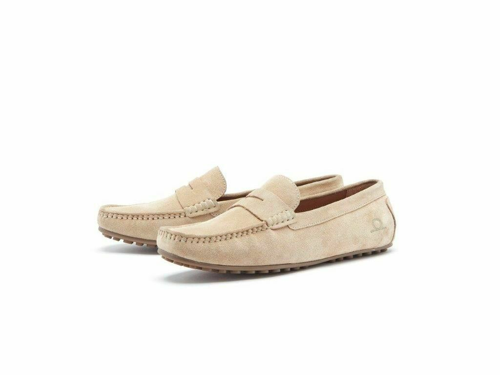 Mens Chatham 'Parker' Suede Driving Moccasin