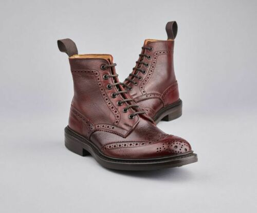 Tricker's Stow Brogue Country Boot - Sign Kudu