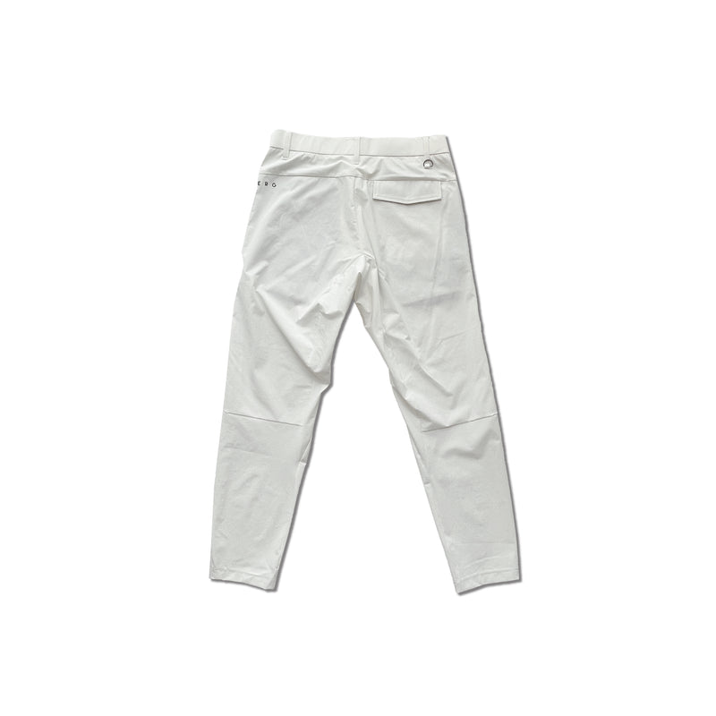 NYLON STRETCH LONG PANTS -すごいパンツ- WHITE