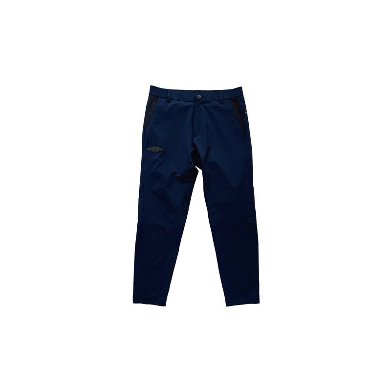 NYLON STRETCH LONG PANTS -すごいパンツ- NAVY