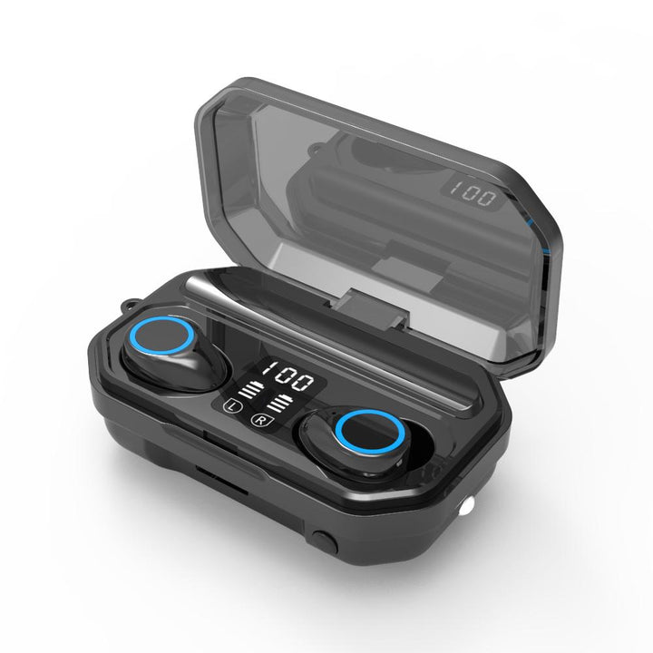 GoBePro LCD Wireless Bluetooth V5.0 Stereo Sport Earbuds