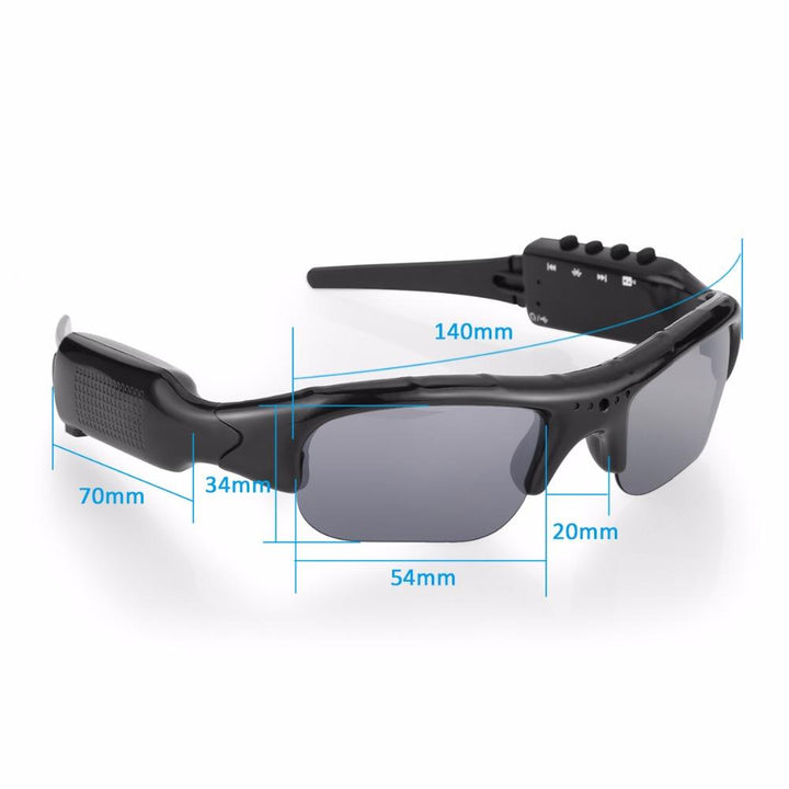 Video Recording Sunglasses with MP3 player let the action begin