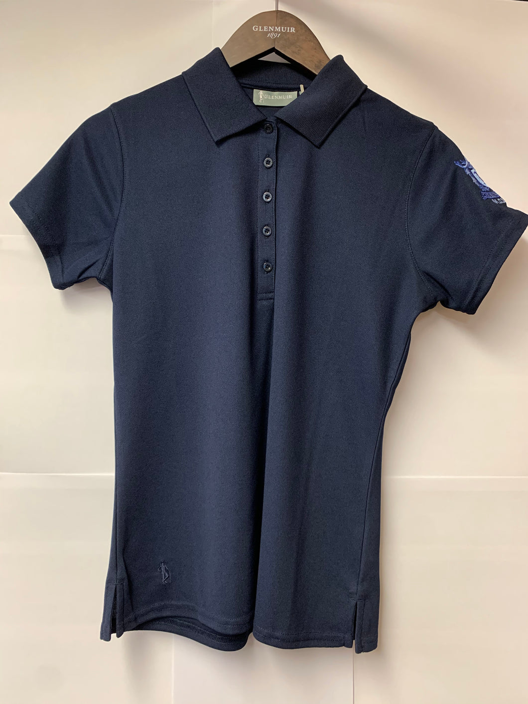 Glenmuir Ladies MDGC Sleeve Crested Polo